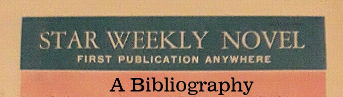 Go To Star Weekly Novel Bibliography
