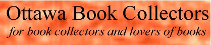 Go To Ottawa Book Collectors pages